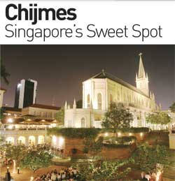 Chijmes, Singapore's sweet spot for NYE