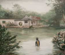 Exploring the garden with Nanjing painter Xu Hong