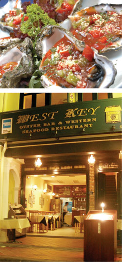 West Key Oyster Bar & Western Seafood