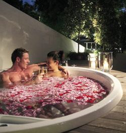 The Romantic Baths of Singapore