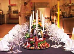 Capture the essence of Italian cuisine; dine at Pontini's Chef's table!