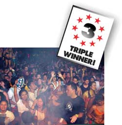 BEST NIGHTCLUB/BAR & BEST CLUB PROMOTER & BEST HAPPY HOUR