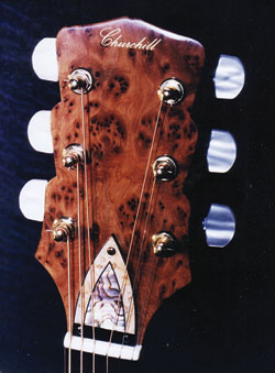 Luthier guitar from Churchill