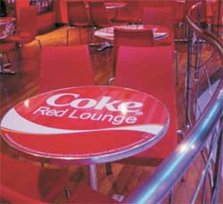 Coke Red Lounge
