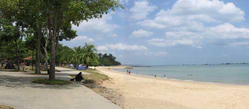 East Coast Park and Goldkist Beach Resort