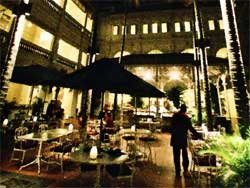 Raffles Courtyard and Gazebo Bar