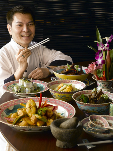 Peranakan Malay Chinese Food
